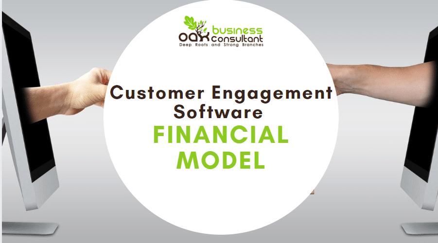 Customer Engagement Software Financial Model