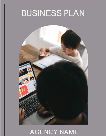 Governess Business Plan Cover page