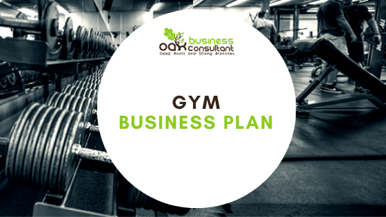 Gym Business Plan Cover Photo