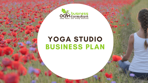 Yoga Studio Business Plan cover